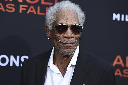 Morgan Freeman bei der Premiere des Films «Angel Has Fallen» 2019 in Los Angeles. Foto: Jordan Strauss/Invision/AP/dpa
