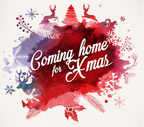 Logo Coming Home For X-MAS